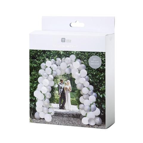 DIY Modern romance balloon arch - NOT ASSEMBLED