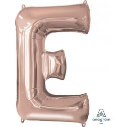 Rose gold giant letter A-Z