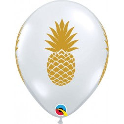 "11"" balloon - Diamond clear pineapple"