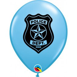 "11"" balloon - Police department"
