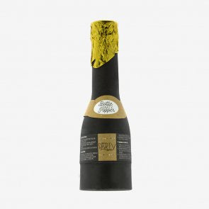 Champagne bottle party popper