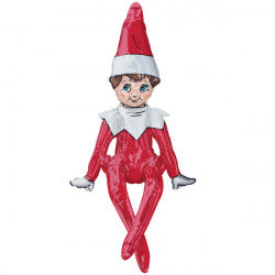 Air fill - the elf on the shelf sitting multi balloon