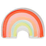 Large rainbow shaped plates - Meri Meri