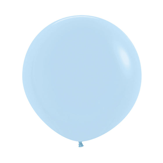 "18"" balloon - matte pastel blue"