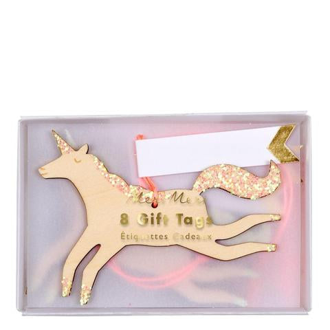 Unicorn gift tags - Meri Meri