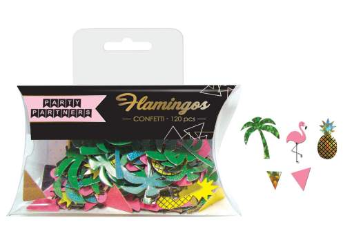 Confetti - flamingo and pineapple mix - only available in Mississauga or for shipping