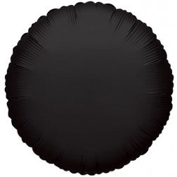 Black round balloon