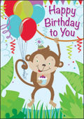 Monkey birthday
