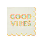 Good vibes small napkins - Meri Meri