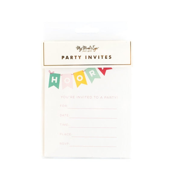 Hooray invitations