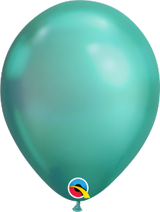 "11"" balloon - Chrome green"