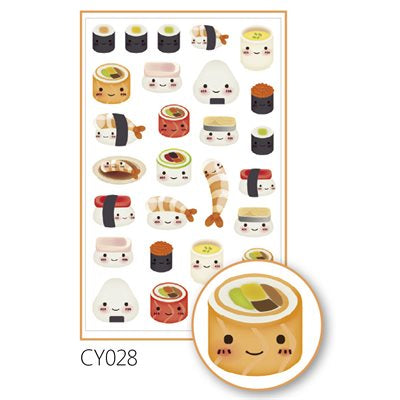 Sushi stickers