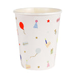 Party icon balloon paper cups - Meri Meri