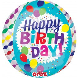 Orbz - Happy Birthday streamer burst