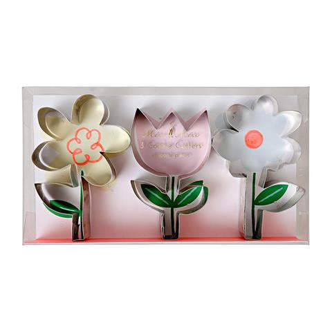 Flower cookie cutters - Meri Meri