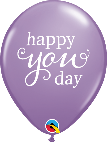"11"" balloon - Happy you day"