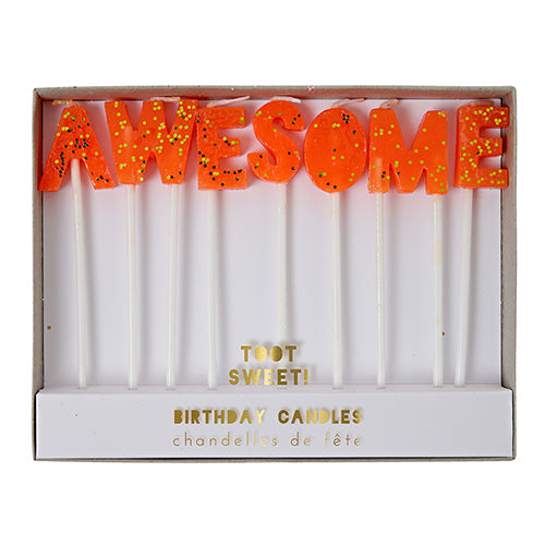 Awesome candles - Meri Meri