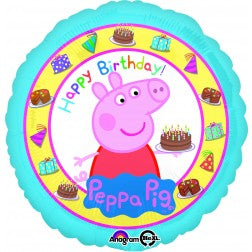 Peppa pig - happy birthday