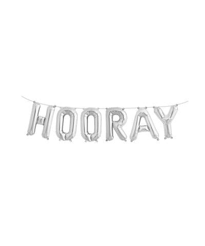 "Mylar 16"" Hooray Balloon Banner"