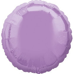 Pearl lavender - round foil balloon
