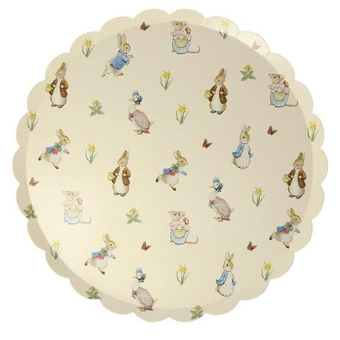 Peter rabbit and friends dinner plates - Meri Meri