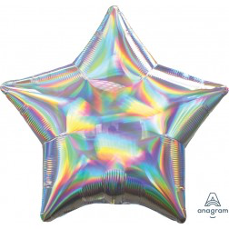 Standard holographic iridescent star