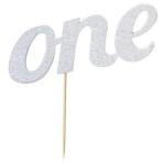 One diamond cake topper