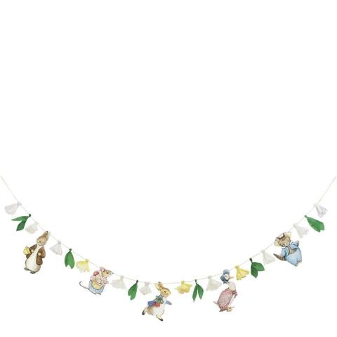 Peter rabbit and friends garland - Meri Meri