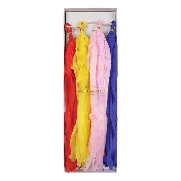Multi coloured tassel garland - Meri Meri