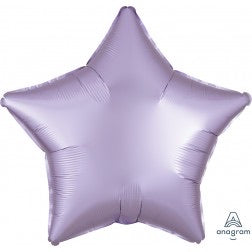 Satin luxe star - pastel lilac