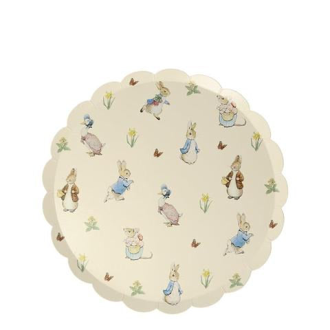 Peter rabbit and friends side plates - Meri Meri
