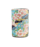 Rishi: Japanese Washi Tea Tin: Sakura Fan Pattern