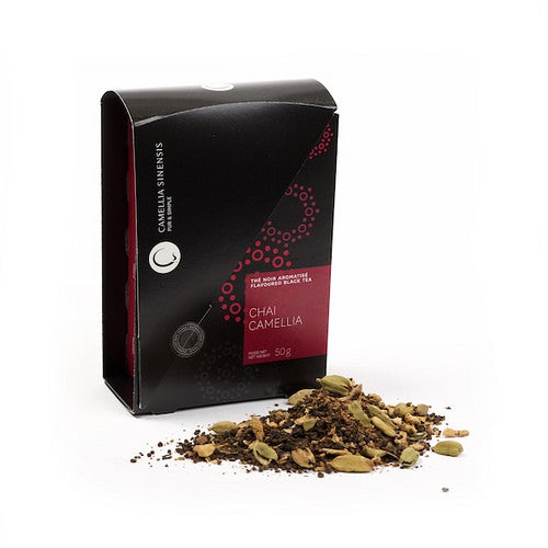 Camellia Sinesis Chai Camellia Tea Box Organic and Fair Trade
