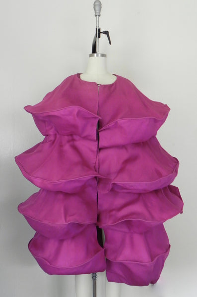 For Rental or Purchase Vintage 1950s Purple Dress and Cape - Vintage World Rocks - 11