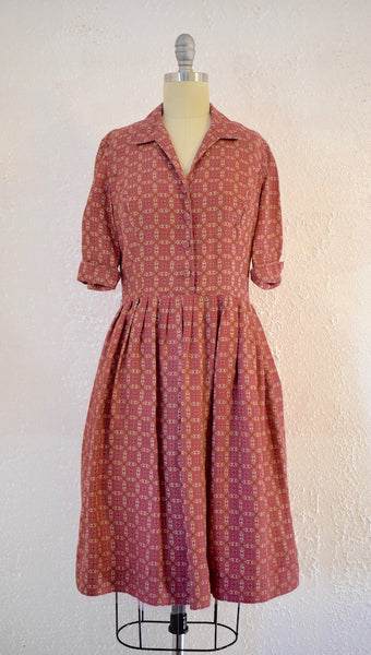 Modern Ann Taylor Vintage Inspired Shirt Dress - Vintage World Rocks - 2