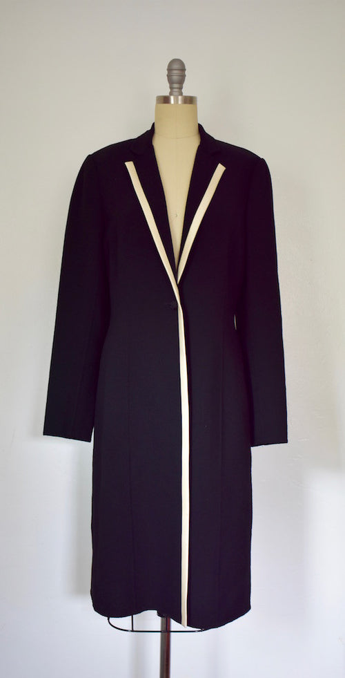 Vintage 1980s Bill Blass for Neiman Marcus Light Suit Coat