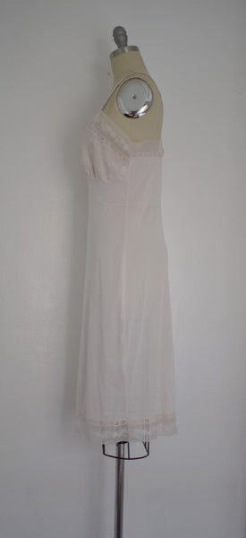 Vintage 1970s Light Pink Aristotle by Superior Nightgown