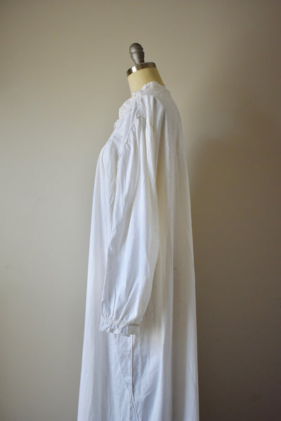 Antique Embroidered Nightgown