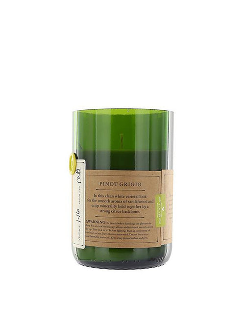 Rewined: Pinot Grigio Candle