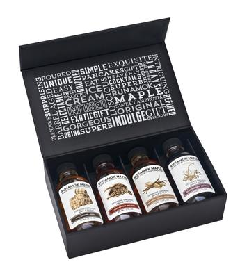 RUNAMUK MAPLE SYRUP: Sampler Gift Box Sugarmaker's Collection