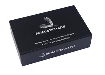 RUNAMUK MAPLE SYRUP: Sampler Gift Box Vermonter's Collection