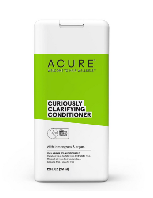 ACURE Curiously Clarifying Lemongrass & Argan Conditioner