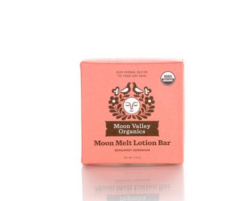 Moon Valley Organics: Moon Melt Lotion Bar Bergamot Geranium