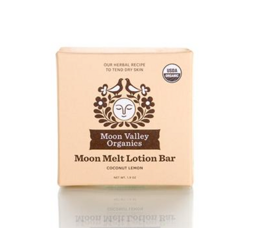 Moon Valley Organics: Moon Melt Lotion Bar Coconut Lemon