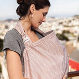 Bébé Au Lait Organic Cotton Nursing Cover in Blush