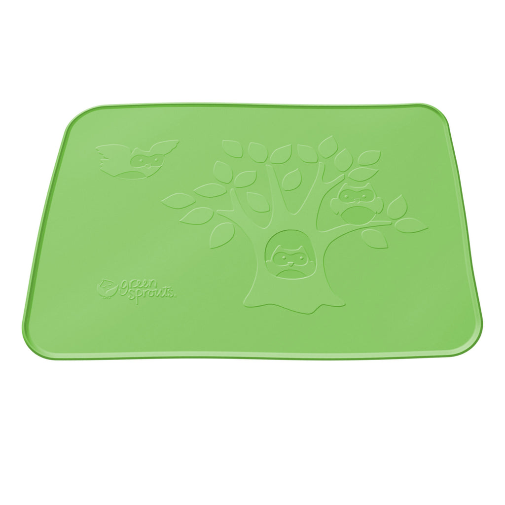 Green Sprouts Silicone Learning Platemat