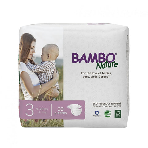 BAMBO Nature Baby Diapers - Midi Size 3 (4 - 9 kg)