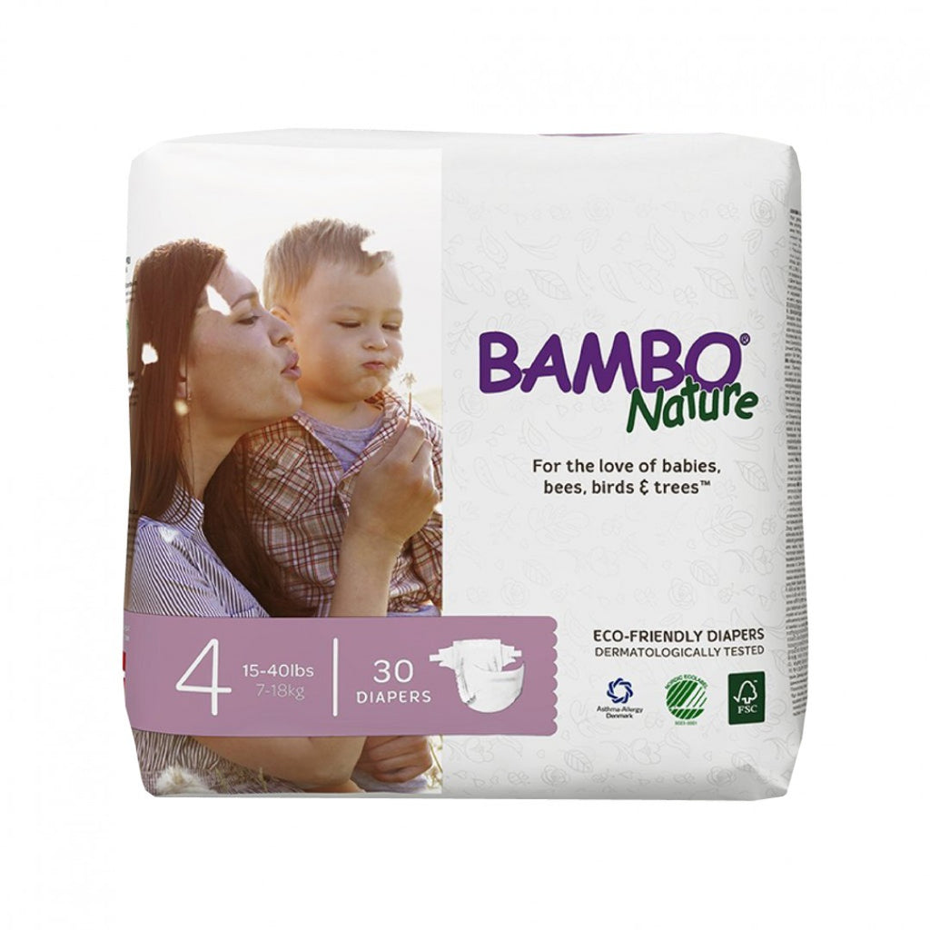BAMBO Nature Baby Diapers - Maxi Size 4 (7 - 18 kg)