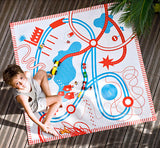 DEUZ Organic Kids Playmat in Roads