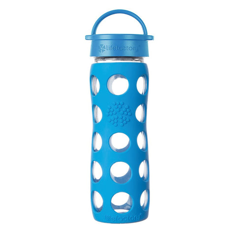 Lifefactory 16 oz / 475 ml Glass Bottle in Ocean